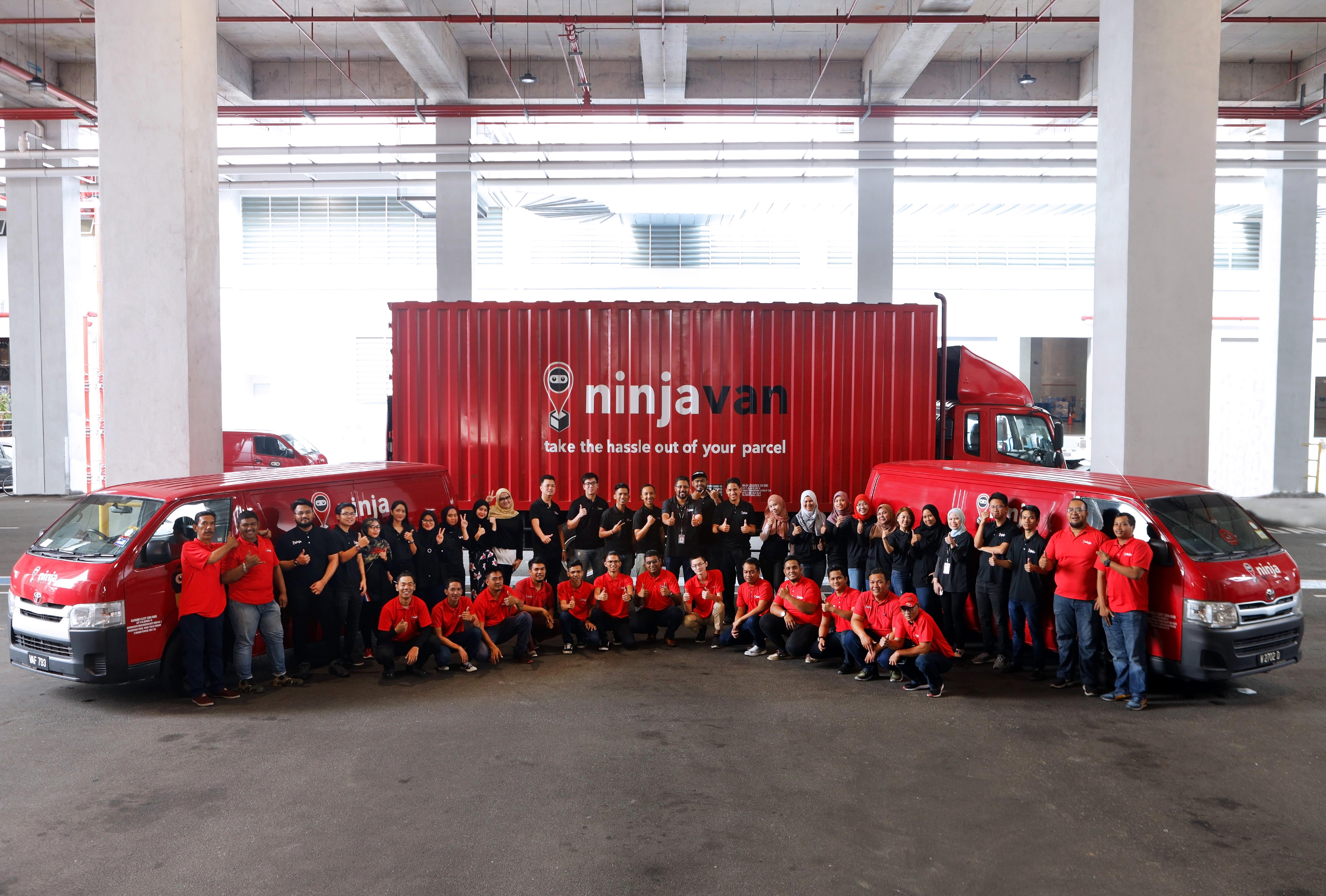 Ninja Van team