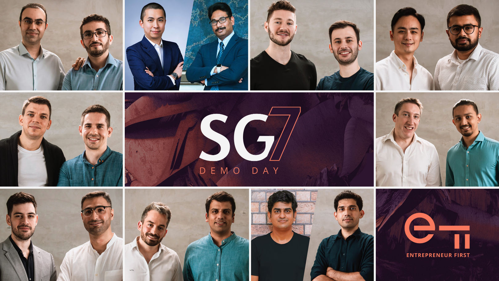 Entrepreneur First names 9 deep-tech startups in seventh Singapore cohort