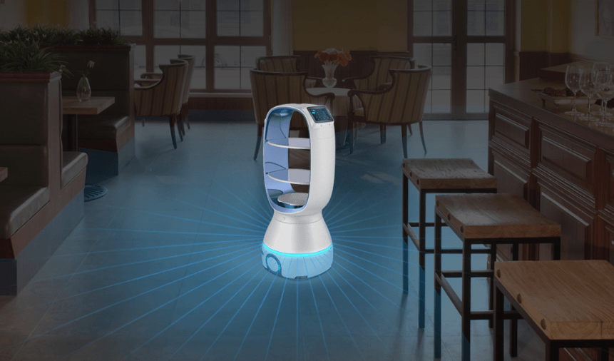 Chinese unicorn to launch its robot waiters in Singapore, other markets