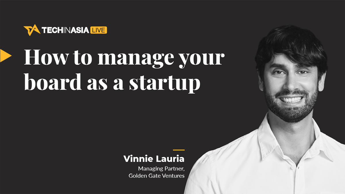 [Workshop] How to manage your board as a startup
